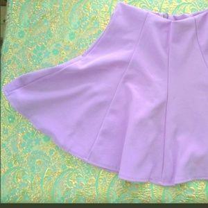 Dresses & Skirts - Lavender Skater Skirt